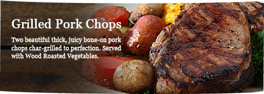 Char-grilled Pork Chops